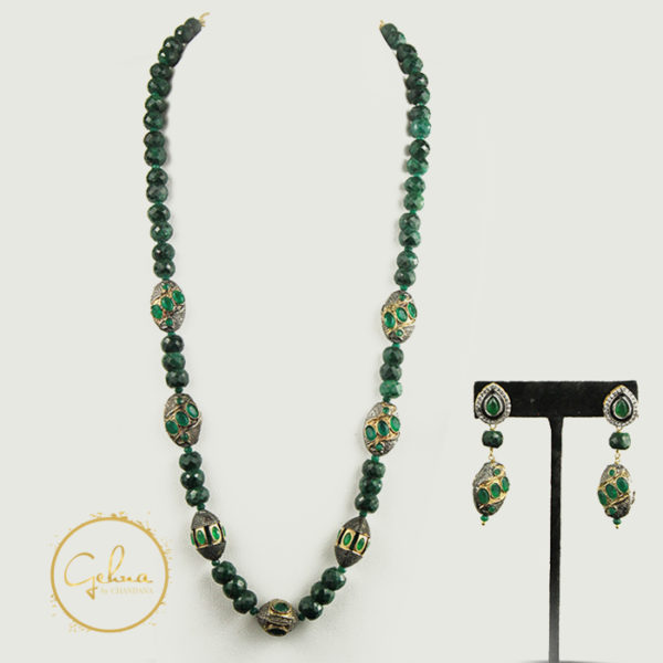 Emerald mala