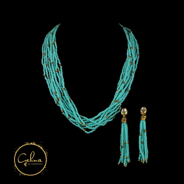 Fancy mala set - Firoza
