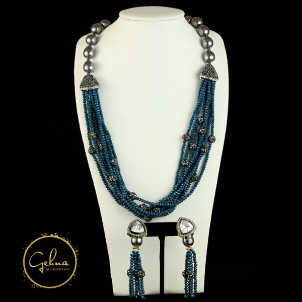 Fancy mala set - Blue