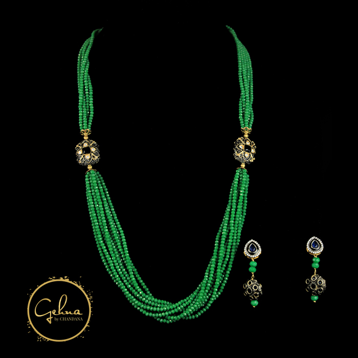 Fancy mala set - Green